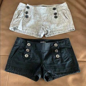 Express Shorts - 2 pair.